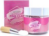 Sky & Earth Pink Clay Mask 120 gr – Gezichtsmasker – Huidverzorging – Roze Kleimasker - Detox masker