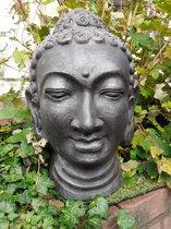 Boeddha beeld boeddha hoofd Thaise boeddha groot en zwaar 44x27x27 cm