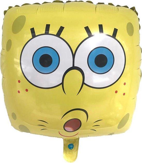 SpongeBob Ballon - Helium Ballonnen - Verjaardag Versiering - Ballonnen - Spongebob - 42 x 42 cm