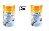 2x CMT Desinfectie doekjes foodwipes - desinfectie covid19 PT2 en PT4 goedgekeurd