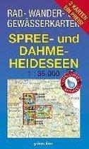 Rad-, Wander- und Gewässerkarten-Set: Spree- und Dahme-Heideseen