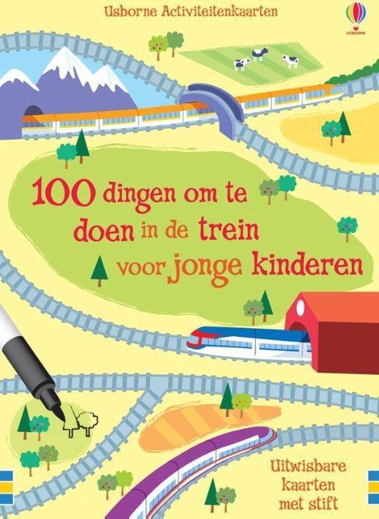 Cover van het boek '100 Dingen Om Te Doen In De Trein' van  Diversen