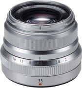 Fujifilm Fujinon XF 35mm - F/2.0 R WR zilver