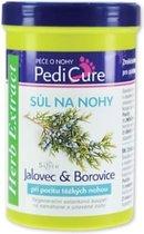 Herb Extract® Pedicure Verzachtend Badzout met Dennennaald Extract - 420g - voor de behandeling van vermoeide benen, zware benen syndroom en het verwijderen van de harde huid van de voeten.