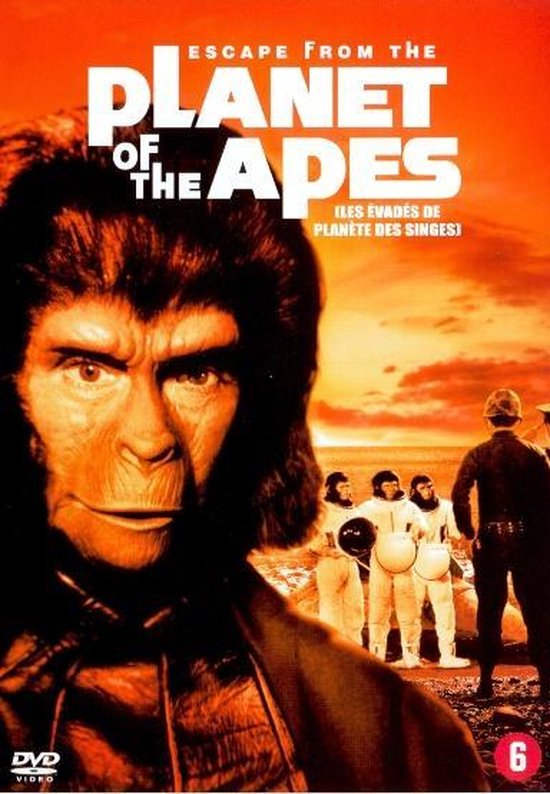 Cover van de film 'Escape From The Planet Of The Apes'