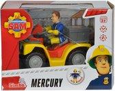 Brandweerman Sam Quad Mercurius - Speelfigurenset
