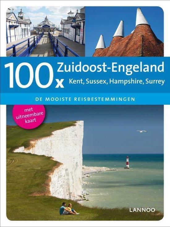 Cover van het boek '100 x Zuid Engeland' van Dirk Musschoot