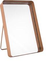 Pt, (Present Time) Vogue Straight - Spiegel - IJzer - 33 x 22 x 4,7 cm - Bruin
