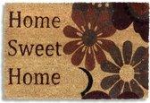 Kokosmat met print / Home Sweet Home  405 / 40 cm x 60 cm /