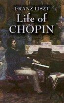 Boek cover Life of Chopin van Franz Liszt
