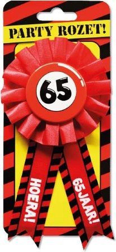 Paperdreams Party Rozetten - 65 Jaar