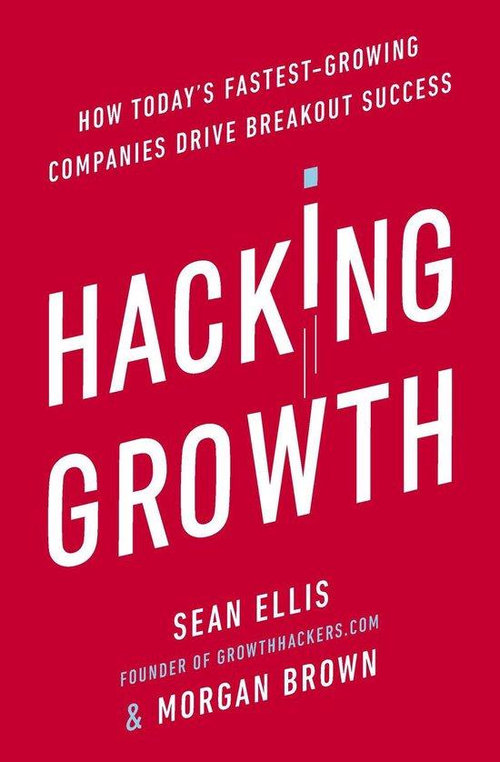 Boek cover Hacking Growth van Morgan Brown (Onbekend)
