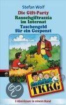 Boek cover TKKG. Die Gift-Party / Rauschgift-Razzia im Internat / Taschengeld für ein Gespenst. Sammelband 4 van Stefan Wolf