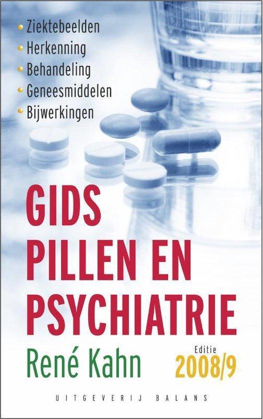 Boek cover Gids Pillen En Psychiatrie / 2008-2009 van Rene Kahn (Paperback)