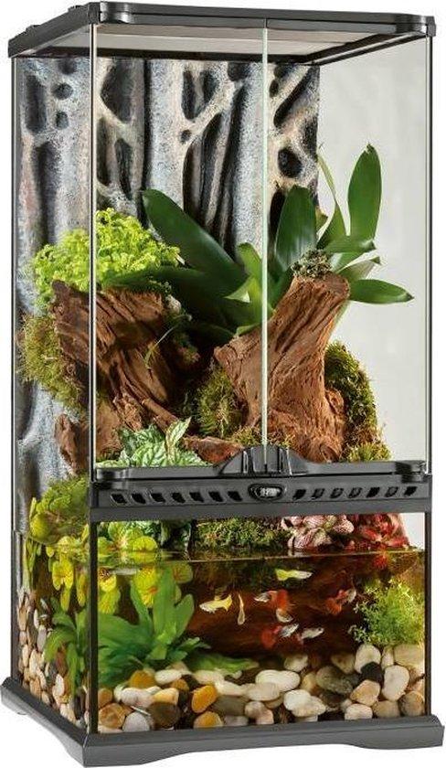 Paludarium Terrarium - 30 x 30 x 60 cm