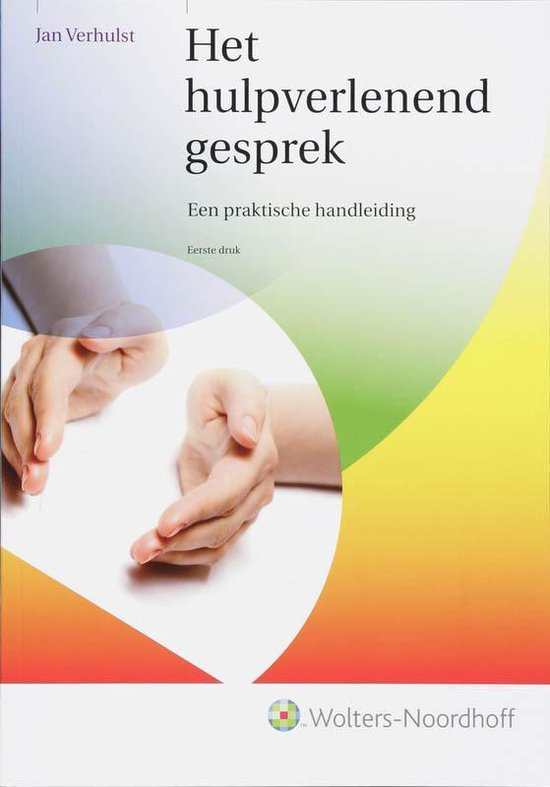 Het hulpverlenend gesprek - Jan Verhulst |