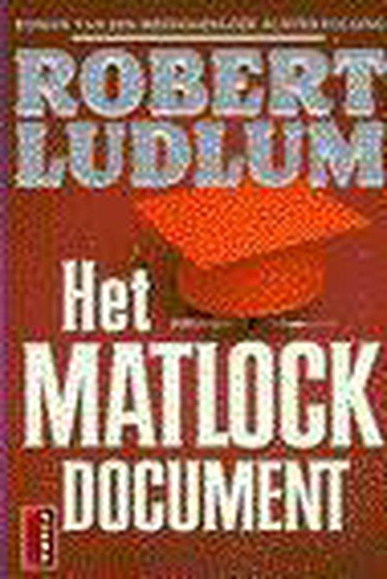 MATLOCK DOCUMENT - Robert Ludlum |