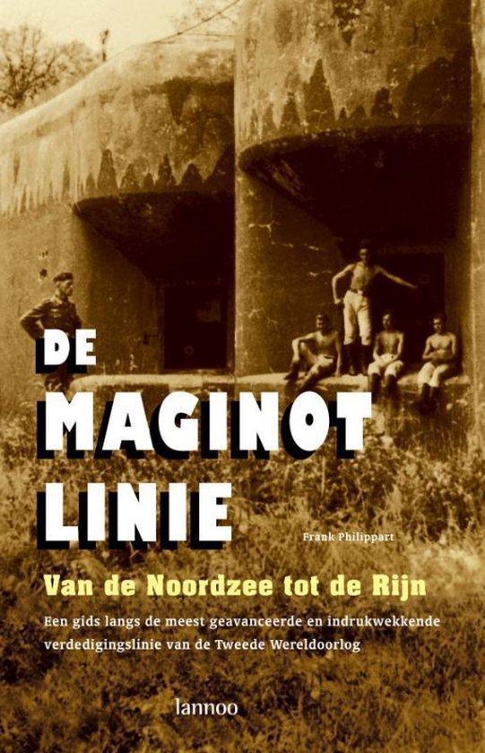 Cover van het boek 'De Maginotlinie' van Frank Philippart