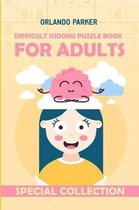 Difficult Sudoku Puzzle Book for Adults
