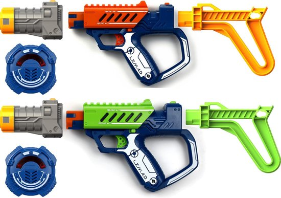 Laser Mad Advance Deluxe battle Ops Duo set - Silverlit