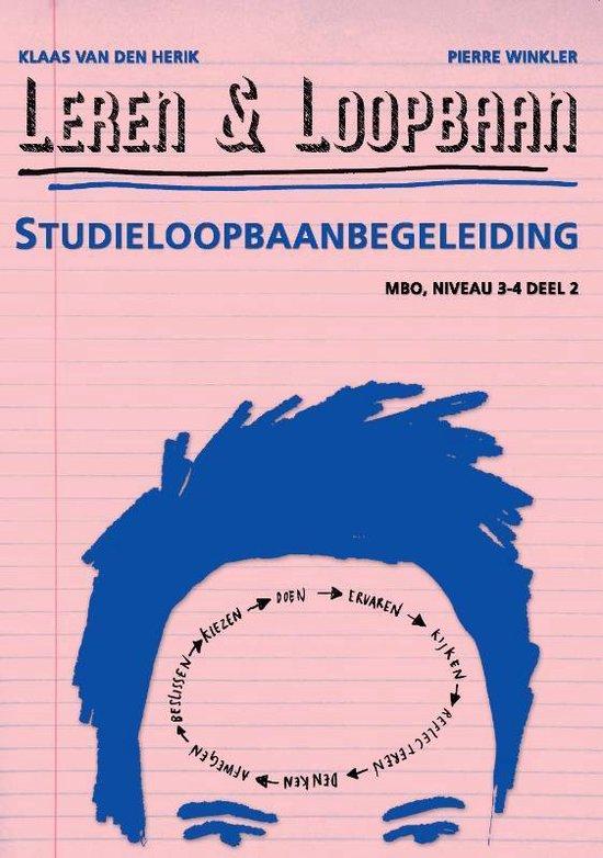 Leren & Loopbaan MBO niveau 3/4 2 Studieloopbaanbegeleiding - Klaas van den Herik   Readingchampions.org.uk