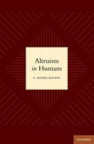 ALTRUISM IN HUMANS C