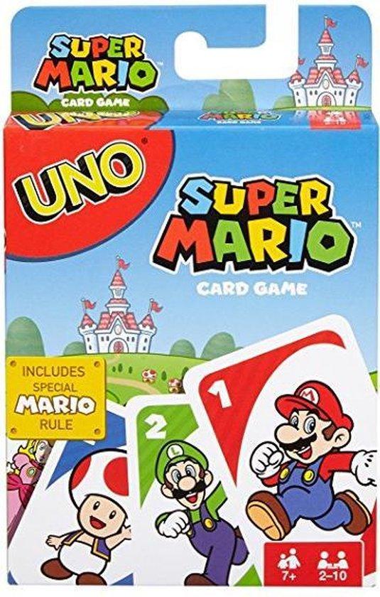 Afbeelding van het spel UNO Mario Kart