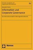 Information und Corporate Governance