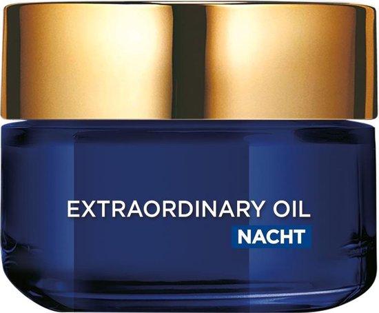 L'Oreal Paris Extraordinary Oil Nachtcrème - 50 ml - Voedend