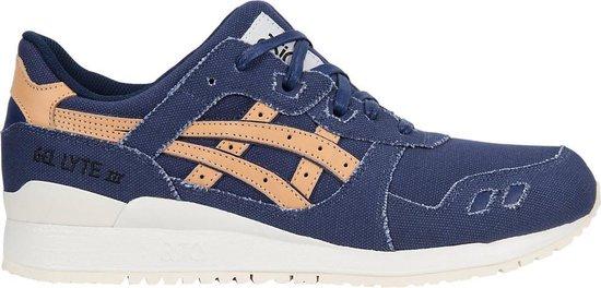 Asics Sneakers Gel Lyte Iii Heren Blauwbruin Maat 37,5