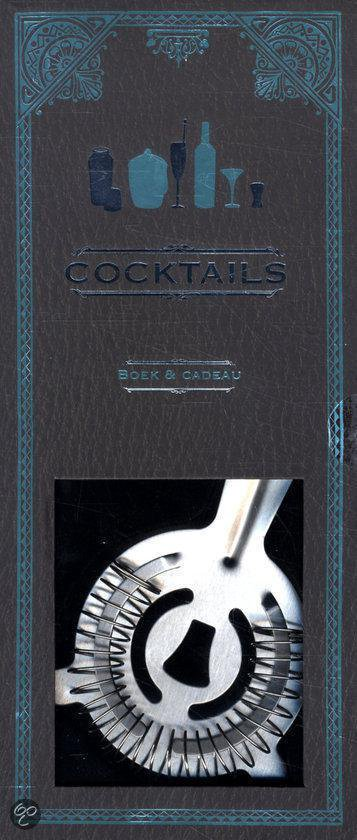 Boek&cadeau - Cocktails - gift set