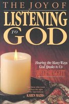 The Joy of Listening to God