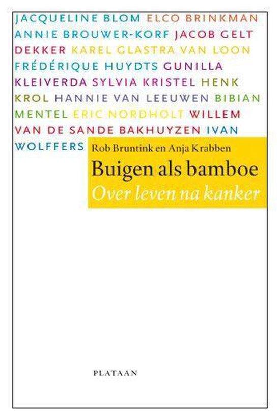 Boek cover Buigen als bamboe van Rob Bruntink (Paperback)