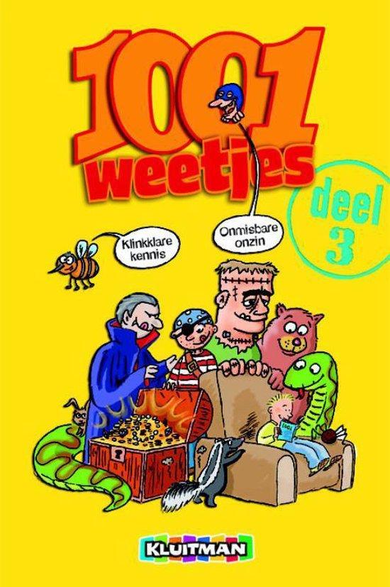 Cover van het boek '1001 Weetjes dl 3' van M. Morgan