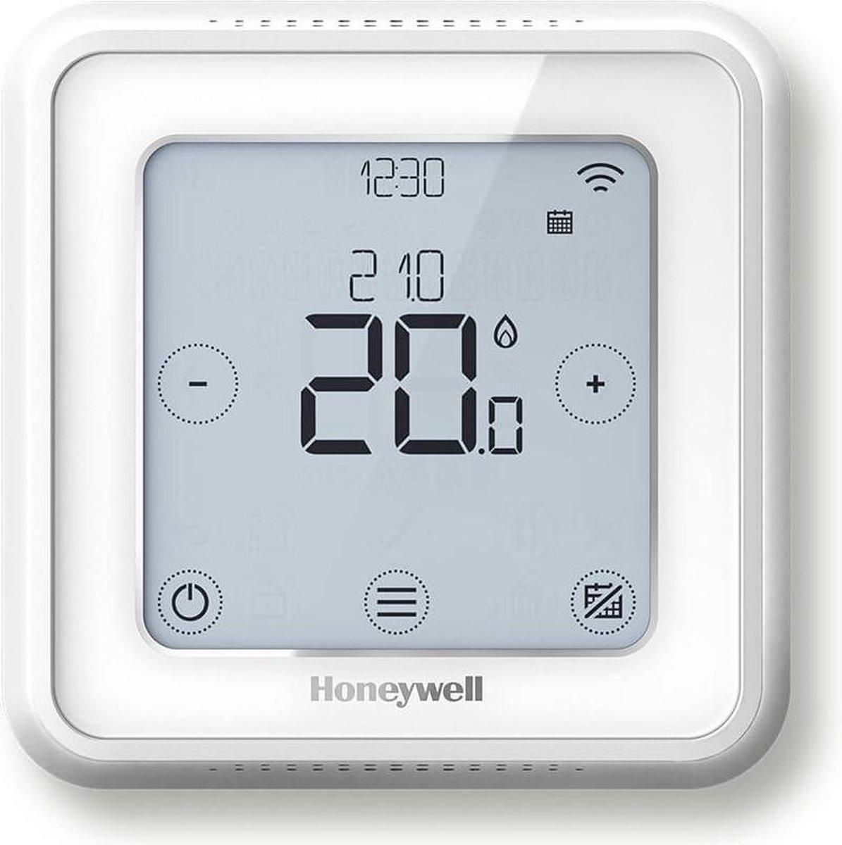 Honeywell Lyric T6 Slimme Thermostaat Wit - Bedraad