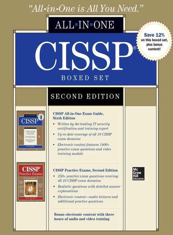 Boek cover CISSP Boxed Set, Second Edition van Shon Harris (Onbekend)