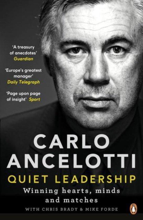 Boek cover Quiet Leadership van Carlo Ancelotti (Paperback)