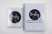 Baby Mijlpaalkaarten + Invulboek eerste jaar