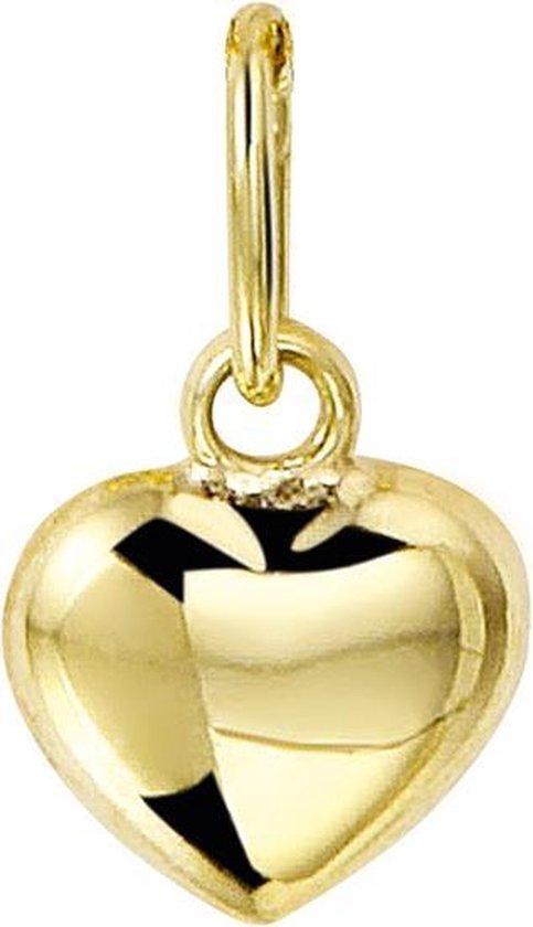 Sparkle14 Hart Hanger Goud