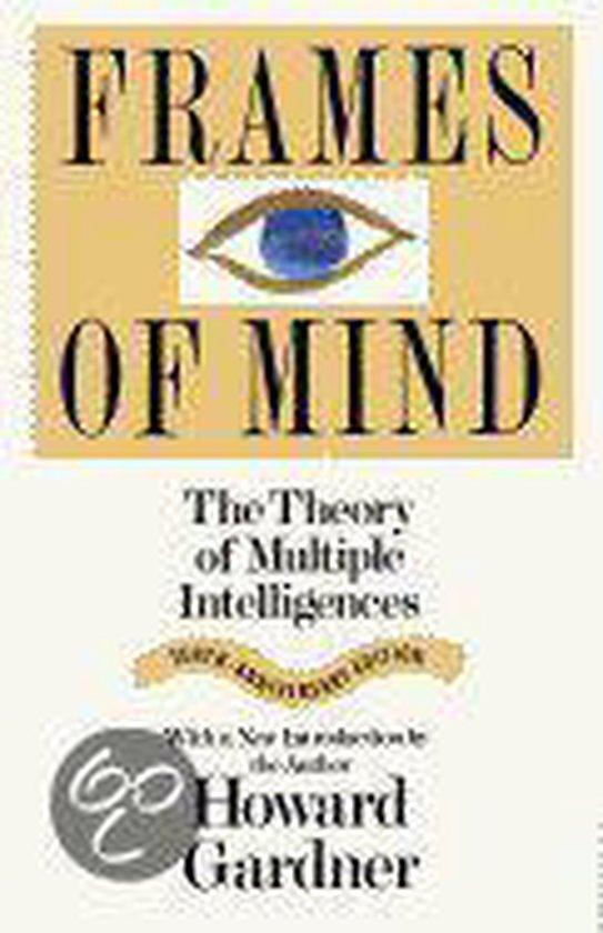 Boek cover Frames of Mind van Howard Gardner