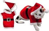 Kerstkleding Voor Hond of Kat - Dierenkleding - Rood