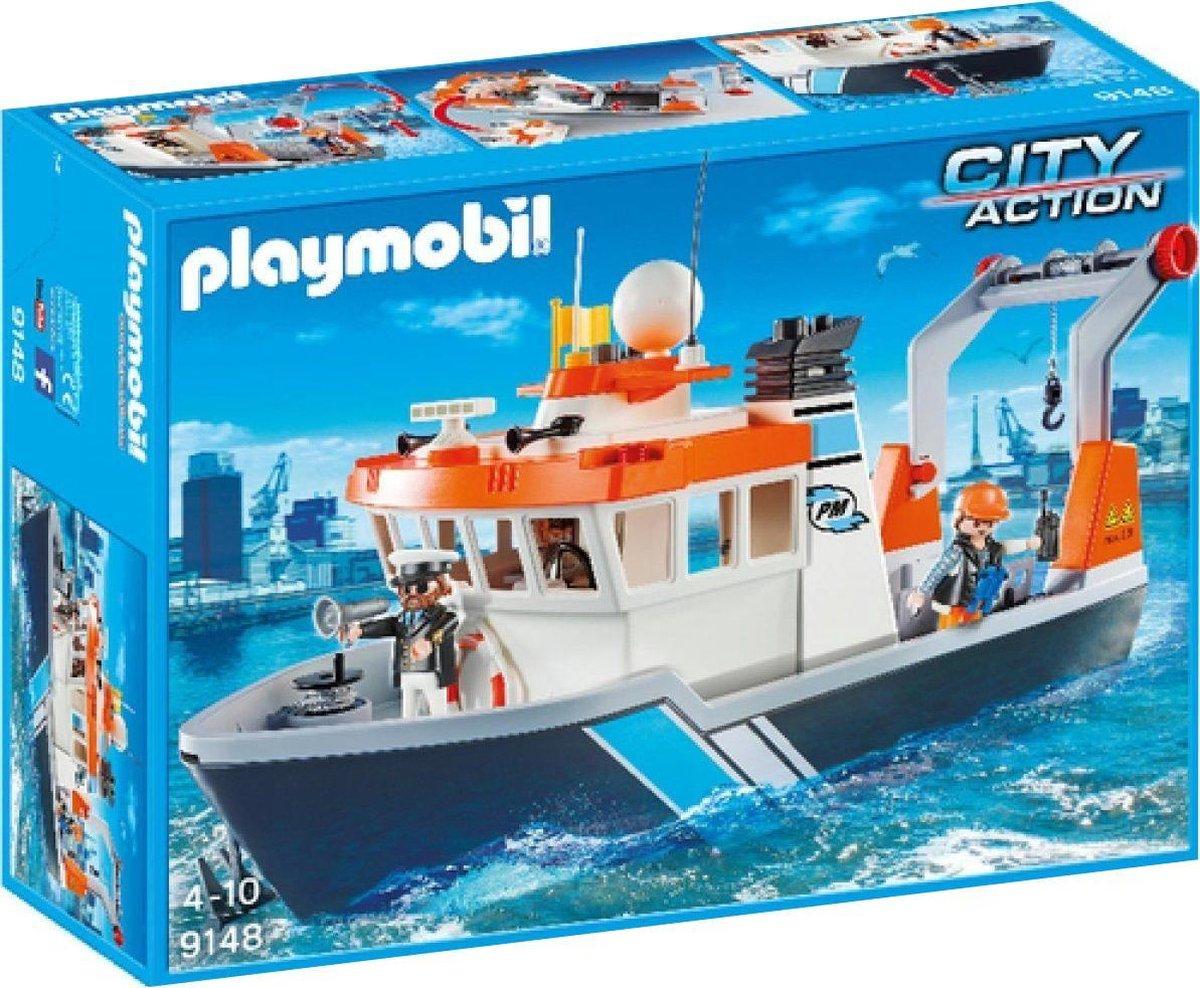 Playmobil Sleepboot