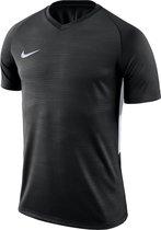 Nike Tiempo Premier SS Jersey Sportshirt - Maat M  - Mannen - zwart/wit