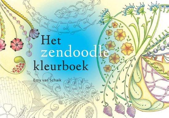 Het zendoodle-kleurboek - Emy van Schaik | Fthsonline.com