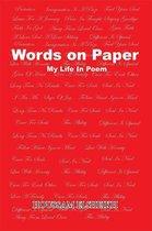 Boek cover Words on Paper van Houssam Elsheikh