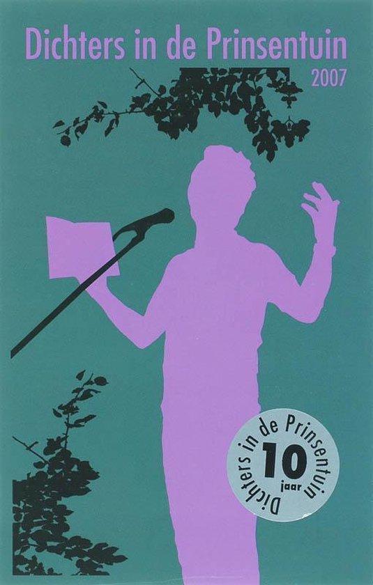 Cover van het boek 'Dichters in de Prinsentuin / 2007'