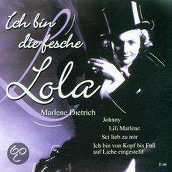 Bol Com Ich Bin Die Fesche Lola Marlene Dietrich Cd Album Muziek