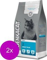 Denkacat Adult Plus - Kattenvoer - 2 x Kalkoen Vis 2.5 kg
