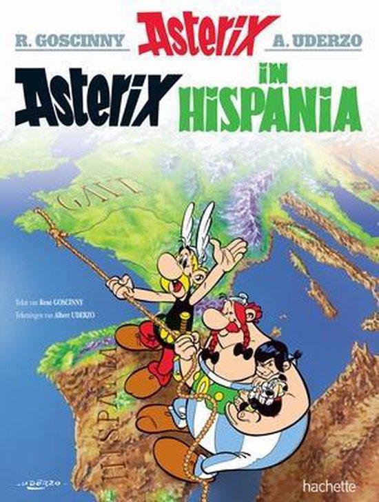 Boek cover Asterix 14. Asterix in Hispania van Albert Uderzo (Onbekend)