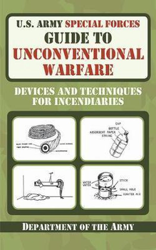 Boek cover U.S. Army Special Forces Guide to Unconventional Warfare van Department Of The Army (Paperback)